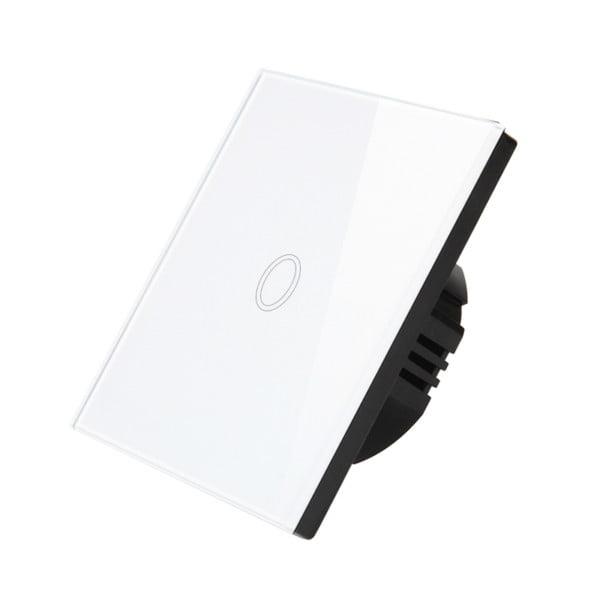 Intrerupator wireless RF cu touch, panou de sticla 9