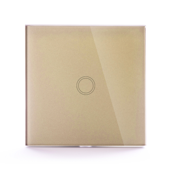 Intrerupator Wireless RF cu touch, panou tactil de sticla si telecomanda tip panou 13
