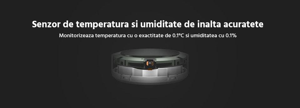 Indicator de temperatura si umiditate Xiaomi cu bluetooth 17