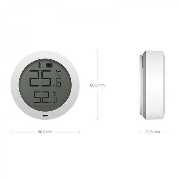 Indicator de temperatura si umiditate Xiaomi cu bluetooth 6