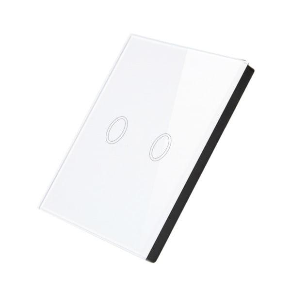 Telecomanda wireless RF tip panou, dublu, din sticla, Sesoo 2