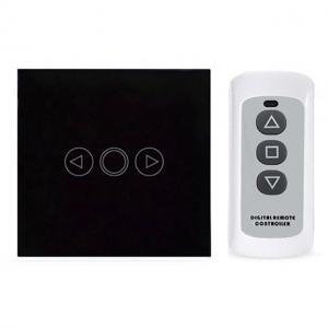 Intrerupator touch RF cu variator, panou de sticla tactil si telecomanda 2