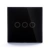 Intrerupator touch simplu/dublu/triplu cu panou tactil din sticla, Sesoo 19