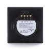 Intrerupator Wireless RF cu touch, panou tactil de sticla si telecomanda tip panou, Sesoo 12