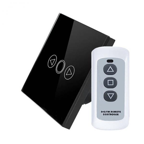 Intrerupator touch RF cu variator, panou de sticla tactil si telecomanda 23