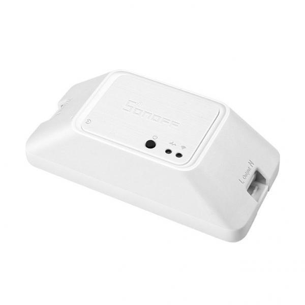 Releu inteligent cu un canal, Wi-Fi + RF, RFR3, Sonoff 2