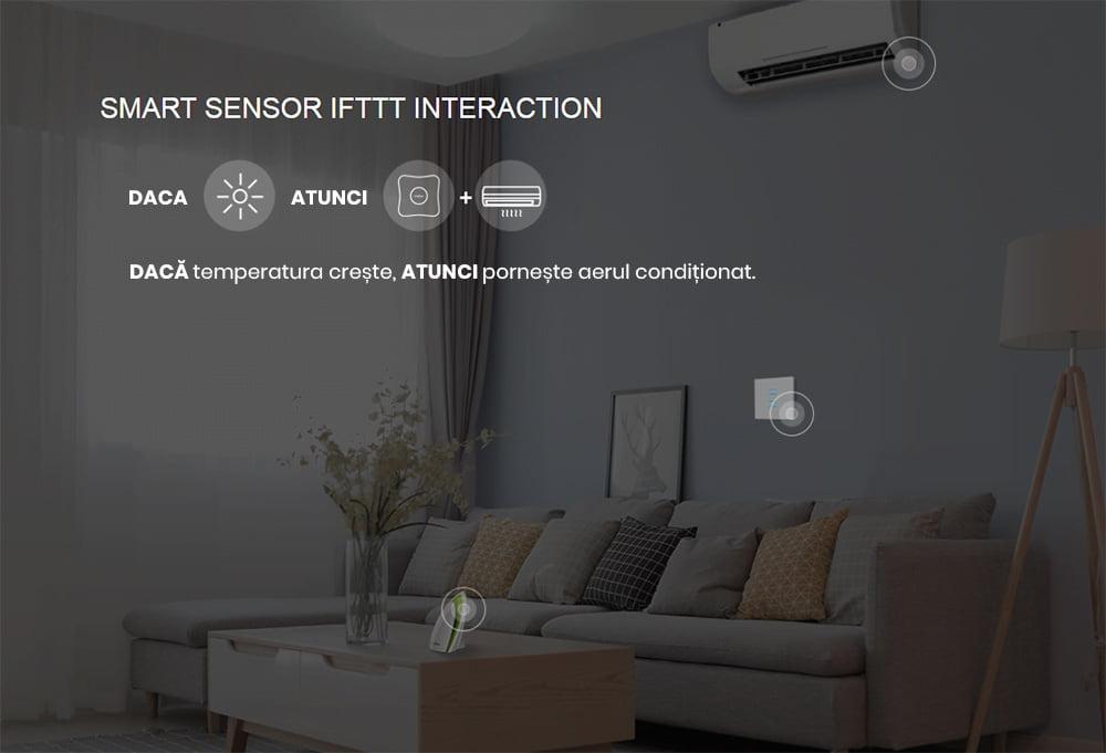 Telecomanda universala inteligenta Broadlink RM4 Pro, Wi-Fi + RF + IR, Model 2020 10