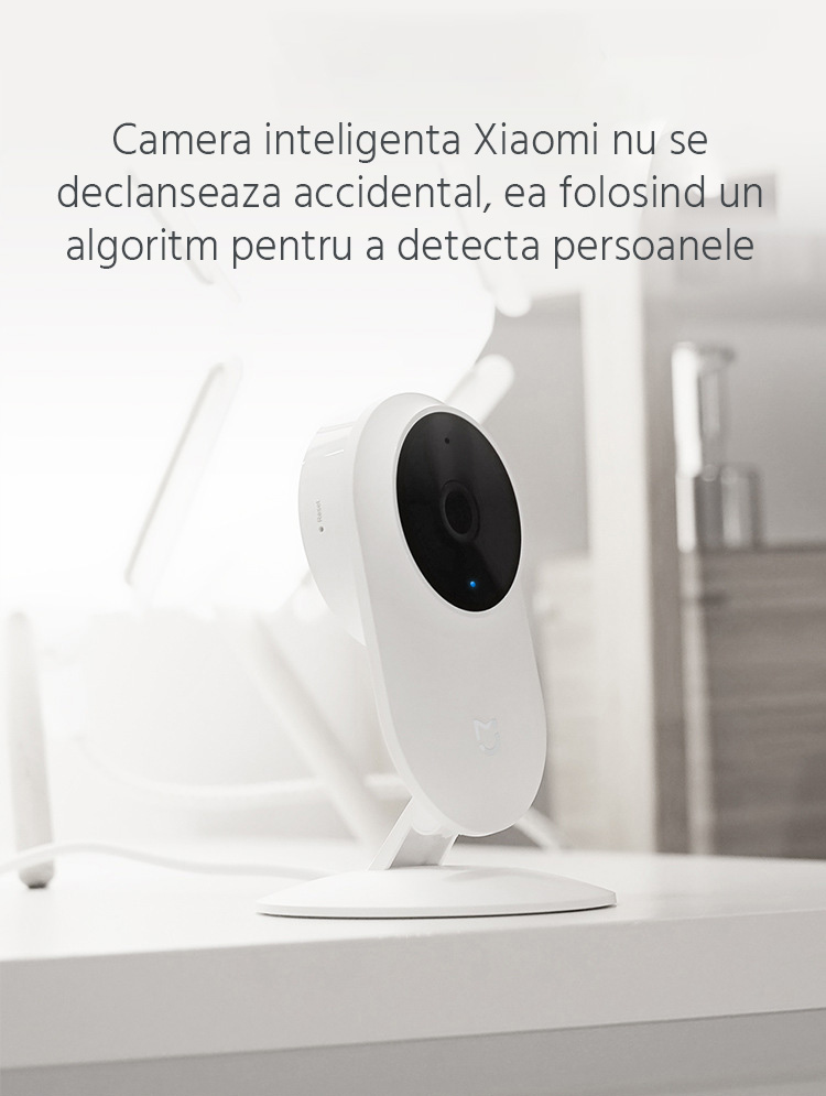 Camera Full HD inteligenta Xiaomi Mijia, 1080p, Wi-Fi 7