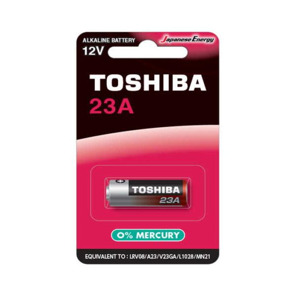 Baterie 23A, 12V, Toshiba, Alcalina 8