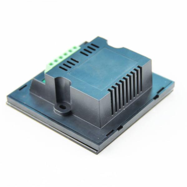 Controler Touch RGB pentru banda LED, de perete, cu panou de sticla tactil, Negru 3