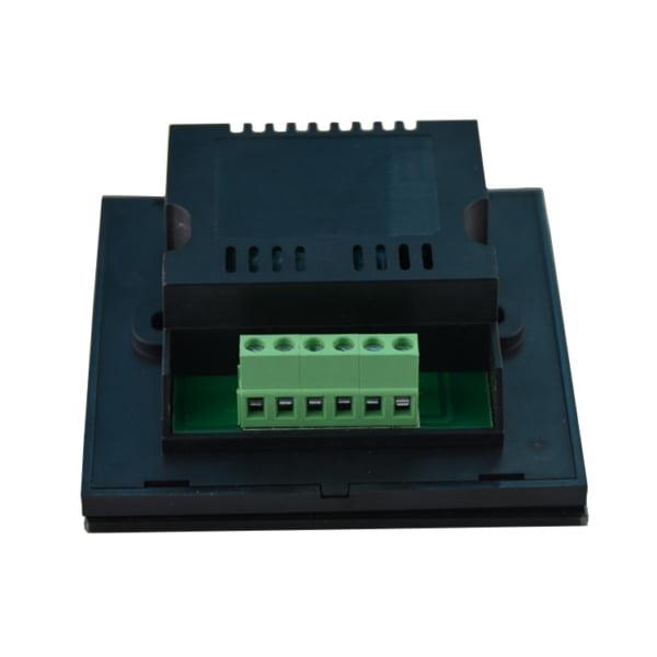 Controler Touch RGB pentru banda LED, de perete, cu panou de sticla tactil, Negru 2