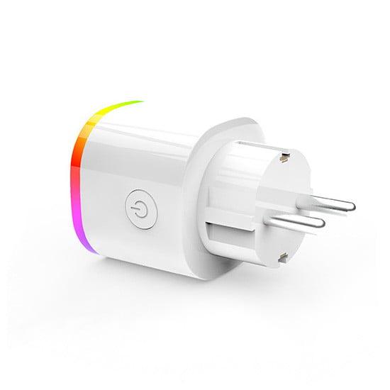 Priza inteligenta Wi-Fi, RGB, Sesoo 2