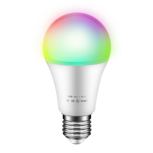 Bec inteligent Wi-Fi, LED, RGB, E27 1