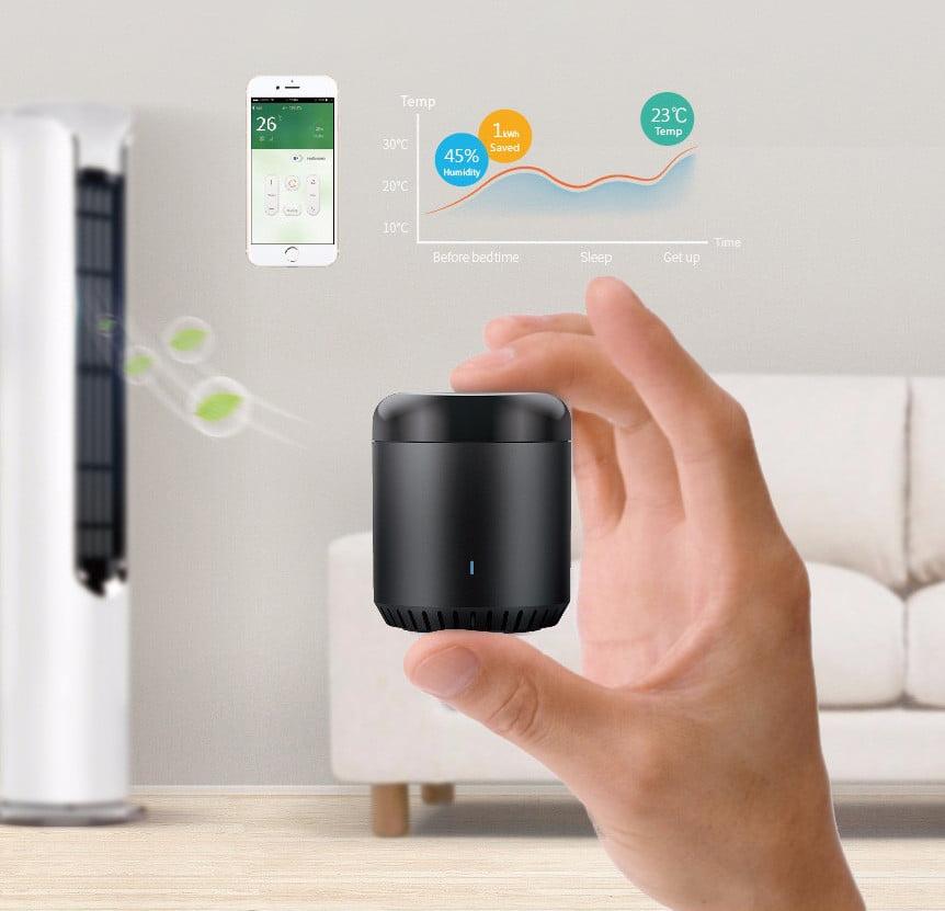 Telecomanda inteligenta Broadlink RM Mini 3, IR, Wi-Fi, 4G 12