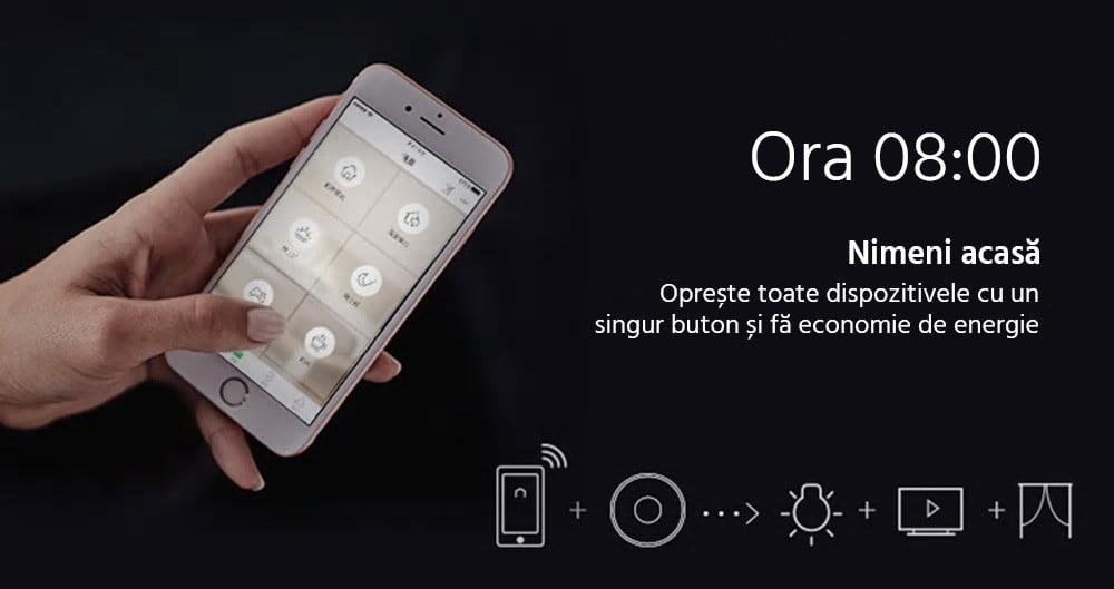 Telecomanda inteligenta Orvibo Allone Pro, RF, IR, Wi-Fi, 4G 19