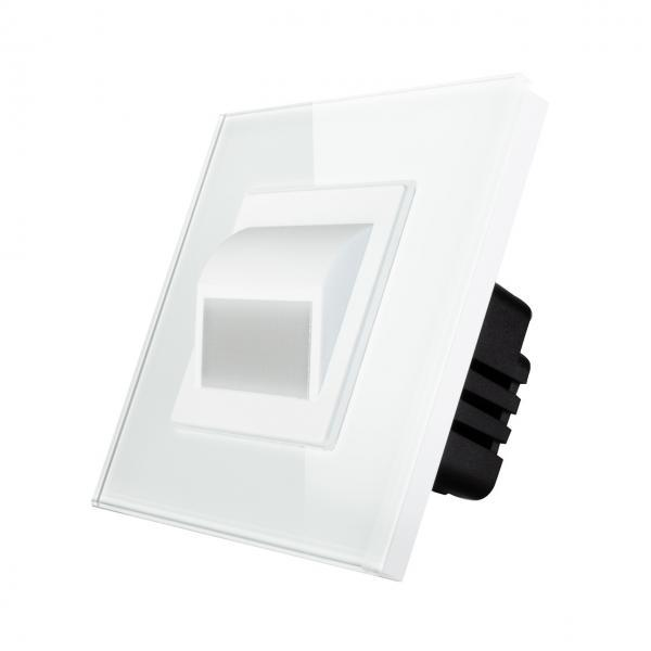 Lampa podea LED completa, cu rama inclusa, lumina calda, 1W, Smart Home 1