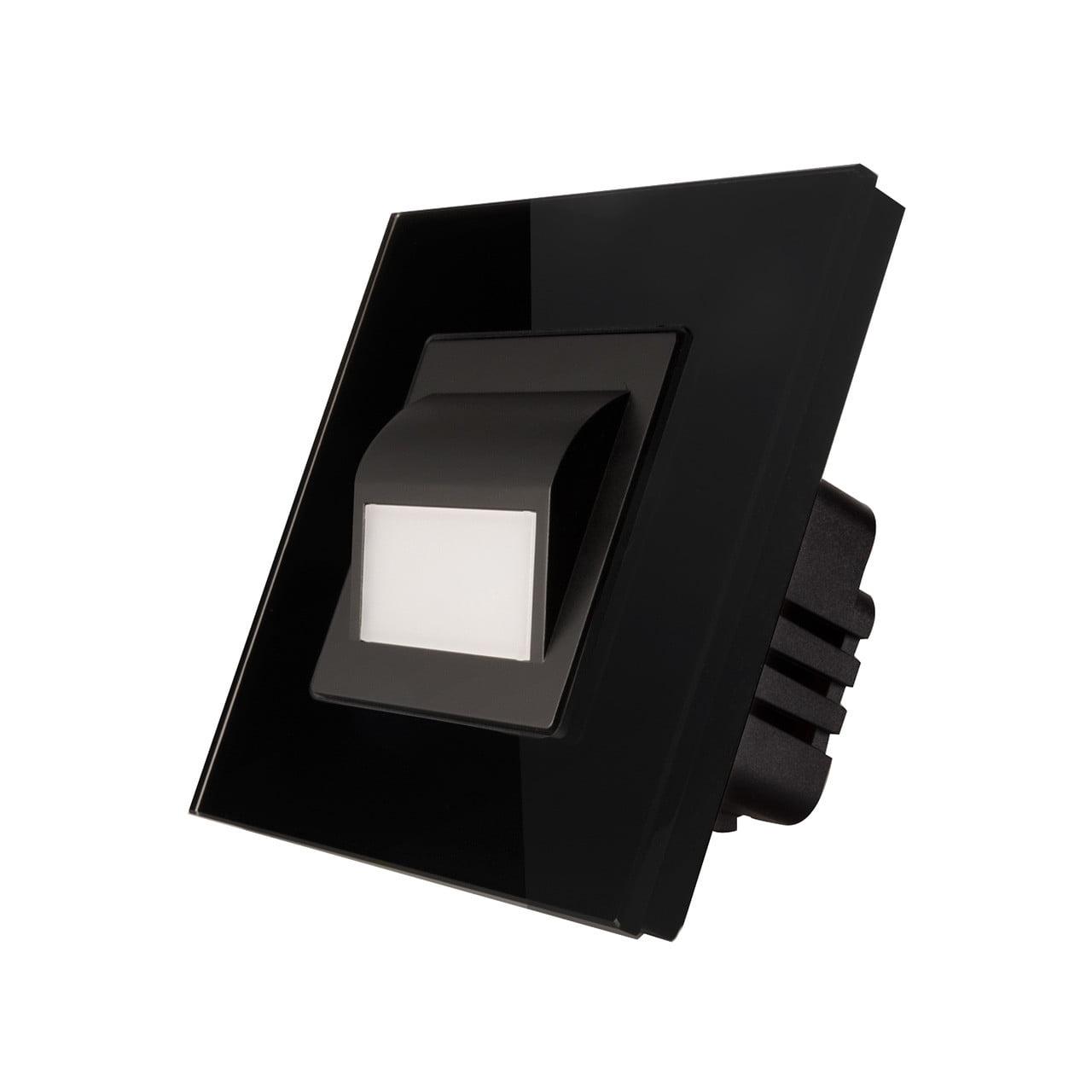 Lampa podea LED completa, cu rama inclusa, lumina calda, 1W, Smart Home