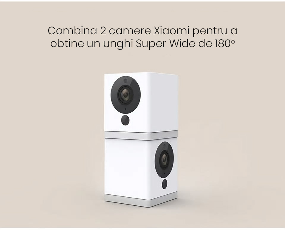 Camera Full HD inteligenta Xiaomi Xiaofang, 1080p, Wi-Fi 25