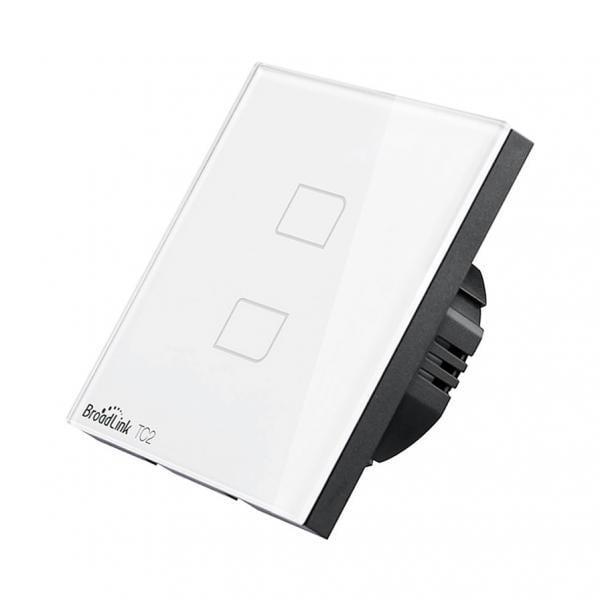Intrerupator touch wireless Broadlink TC2, cu panou tactil din sticla 2