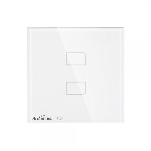 Intrerupator touch wireless Broadlink TC2, cu panou tactil din sticla 5