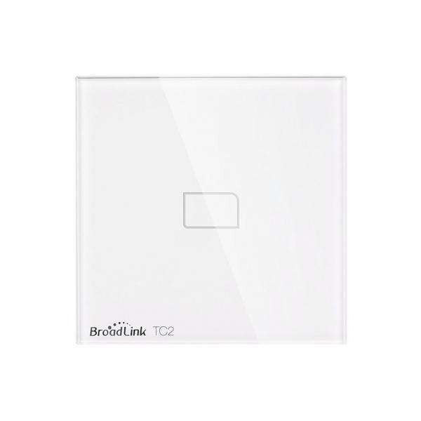 Intrerupator touch wireless Broadlink TC2, cu panou tactil din sticla 4