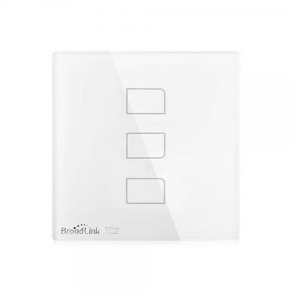 Intrerupator touch wireless Broadlink TC2, cu panou tactil din sticla 6