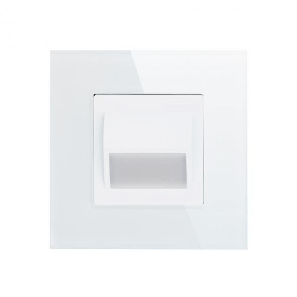 Lampa podea LED completa, cu rama inclusa, lumina calda, 1W 4