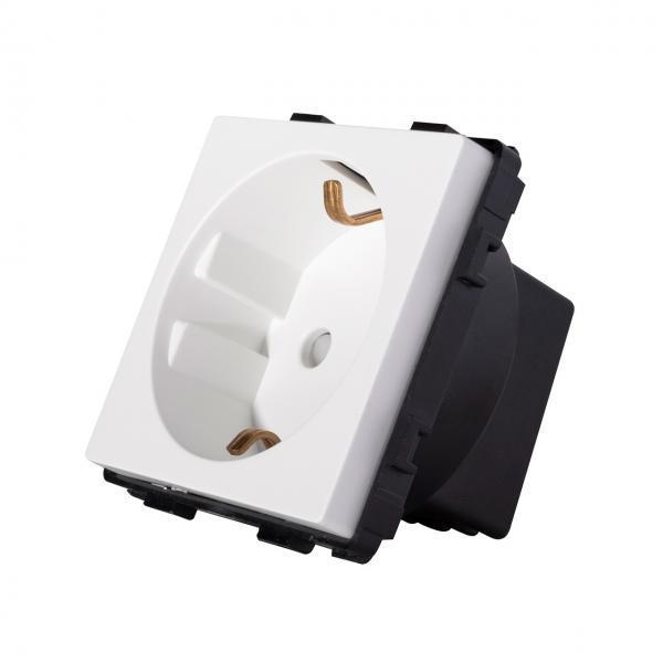 Modul priza schuko, 250V, 16A, protectie copii, Smart Home 20