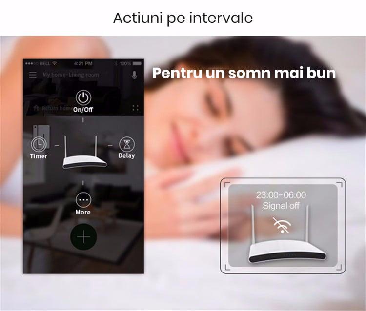 Priza inteligenta Broadlink SP3s, Wi-Fi, Monitorizare consum 18