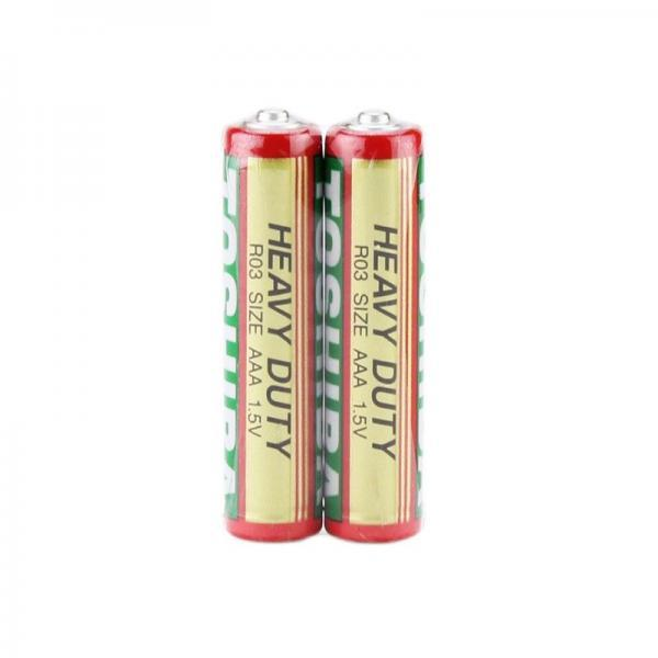 Baterii AAA (set 2 buc), 1.5V, Toshiba, Alcalina 2