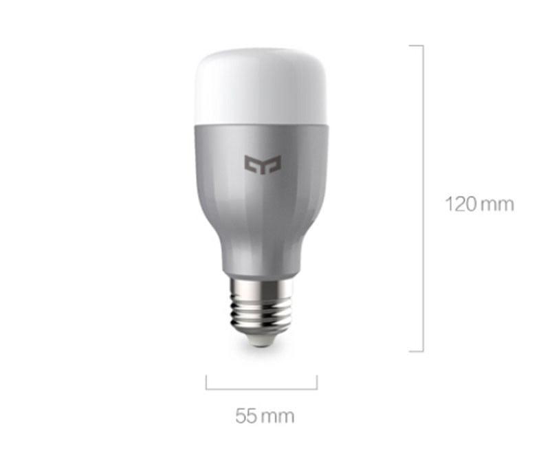Bec inteligent LED RGB, Xiaomi Yeelight, E27, Wi-Fi 11