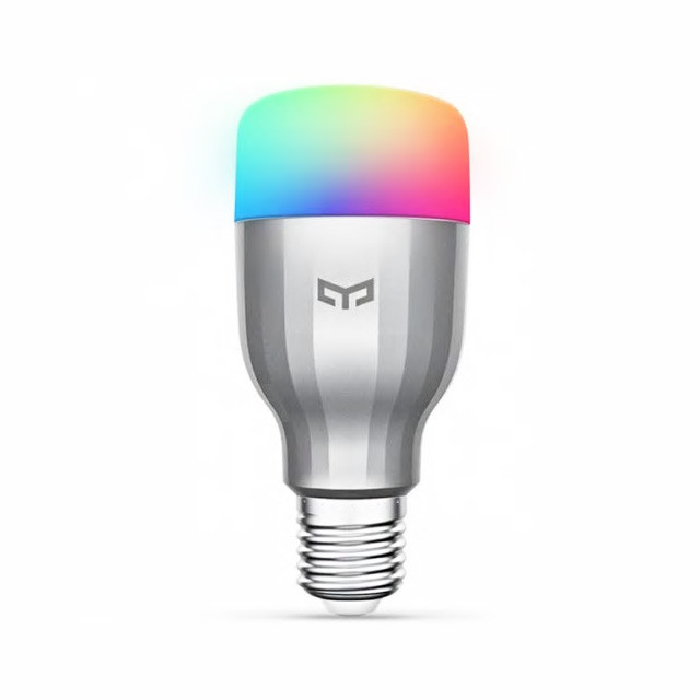 Bec inteligent LED RGB, Xiaomi Yeelight, E27, Wi-Fi