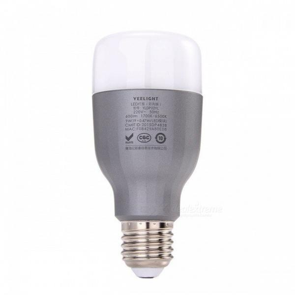 Bec inteligent LED RGB, Xiaomi Yeelight, E27, Wi-Fi 1