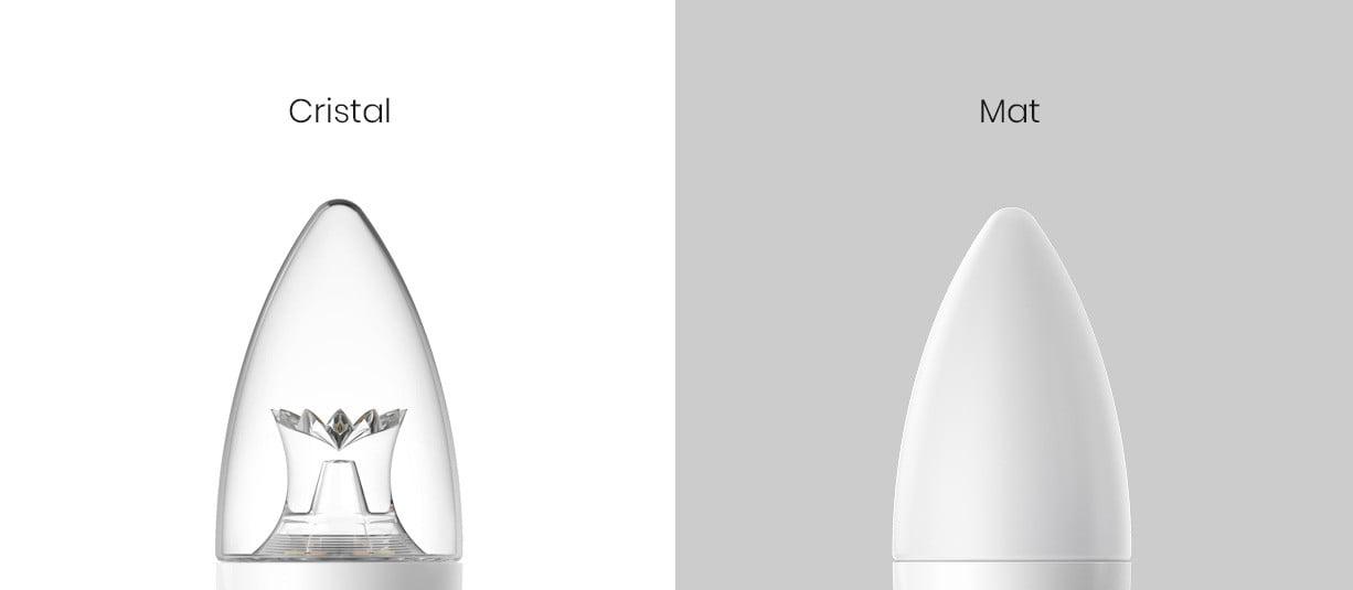 Bec inteligent LED tip lumanare, Philips Zhirui, E14, transparent 12