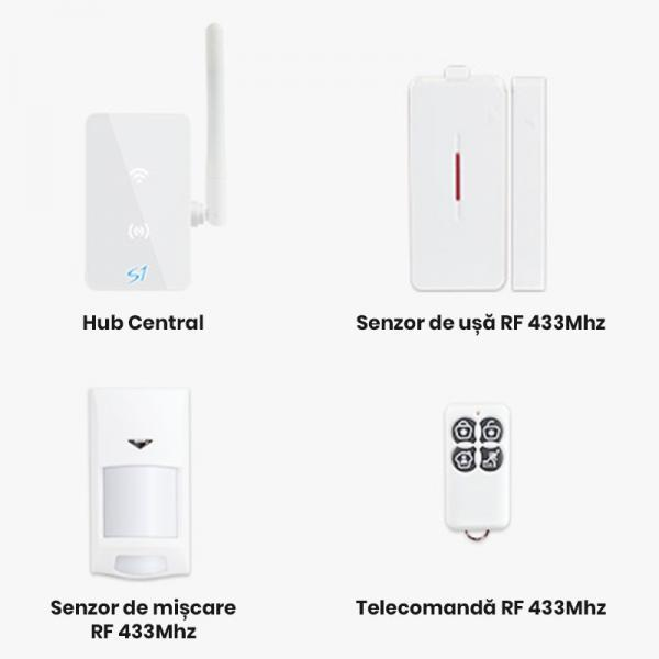 Kit alarma inteligent Broadlink S1 7
