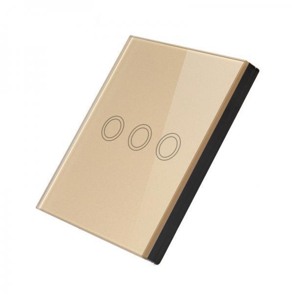 Telecomanda wireless RF tip panou, suprafata tactila din sticla, Sesoo 9