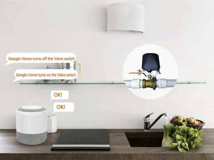 Electrovalva inteligenta pentru apa sau gaz, Wi-Fi, control din aplicatie 15