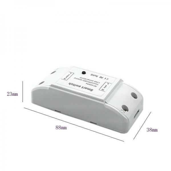 Releu Wireless RF, cu un canal, compatibil cu telecomenzile RF 1