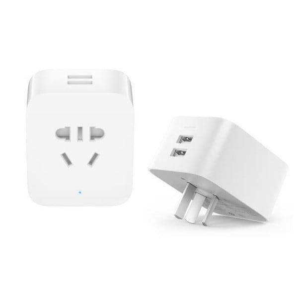 Priza inteligenta Xiaomi, Wi-Fi, 2 x USB, monitorizare consum, control din aplicatie 9