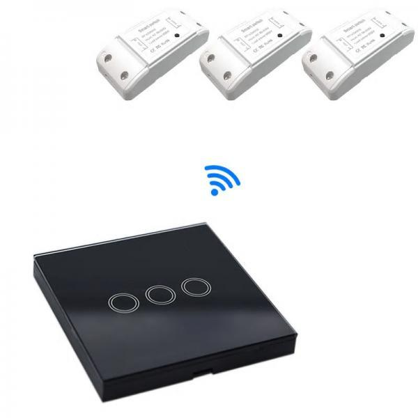 Releu Wireless RF, cu un canal, compatibil cu telecomenzile RF 2