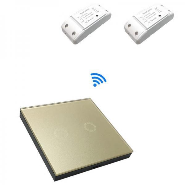 Releu Wireless RF, cu un canal, compatibil cu telecomenzile RF 4