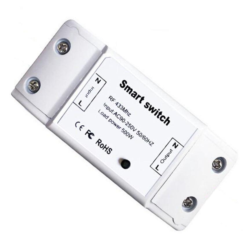 Releu Wireless RF, cu un canal, compatibil cu telecomenzile RF