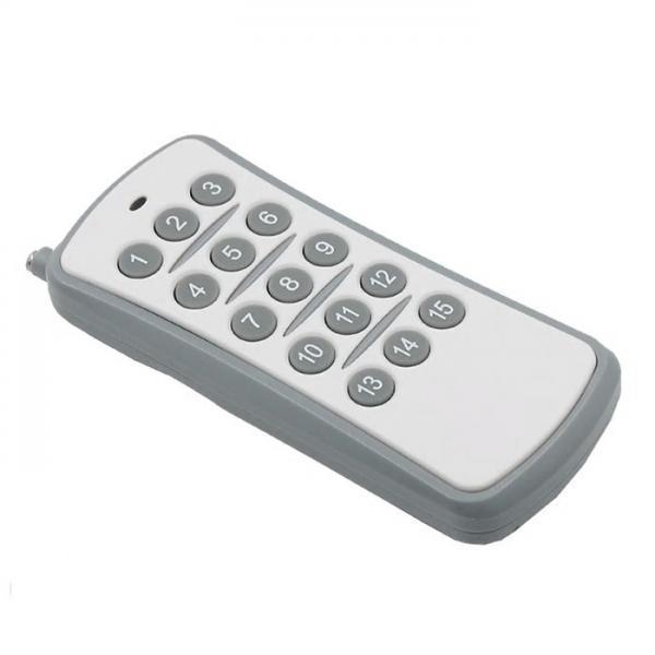 Telecomanda wireless RF, 15 butoane, compatibila cu intrerupatoarele si releele Sesoo 4