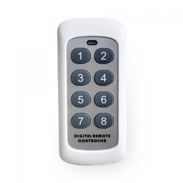 Telecomanda wireless RF, 8 butoane, compatibila cu intrerupatoarele Sesoo 20