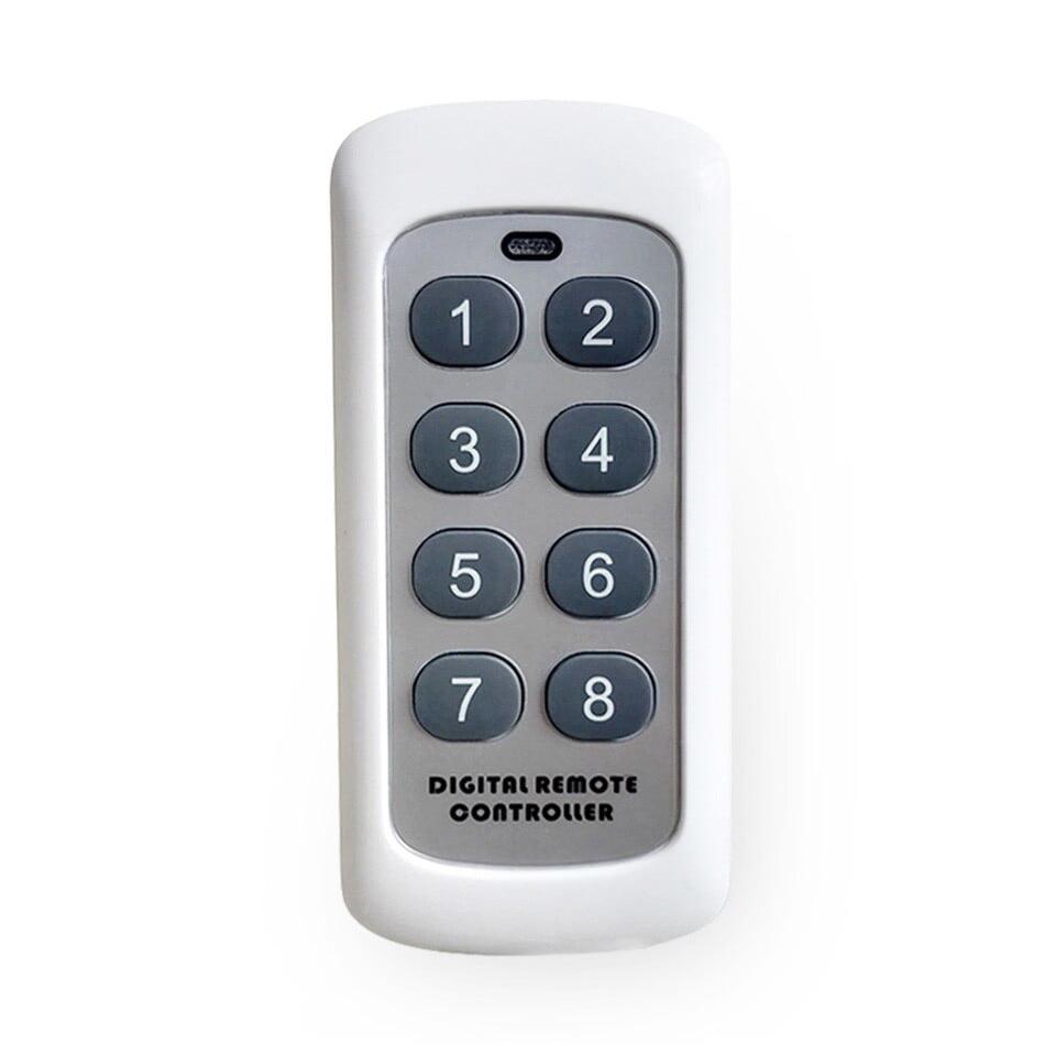 Telecomanda wireless RF, 8 butoane, compatibila cu intrerupatoarele Sesoo