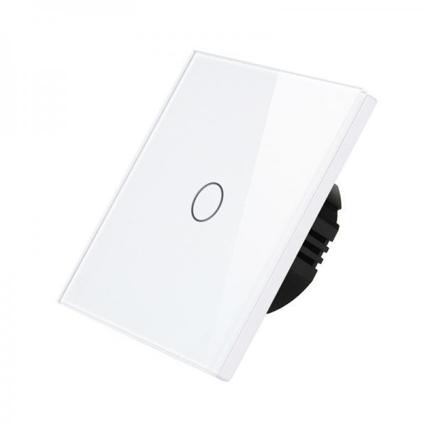 Intrerupator touch dimabil (cu variator), Wireless RF, panou tactil din sticla, Smart Home 1