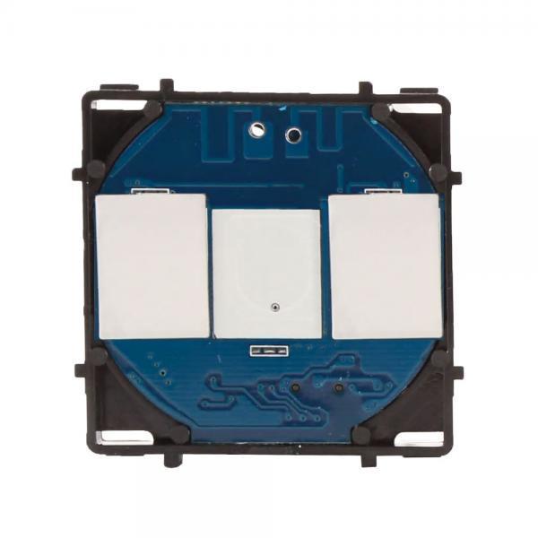 Modul intrerupator touch simplu/dublu/triplu inteligent, Wi-Fi, Smart Home 2