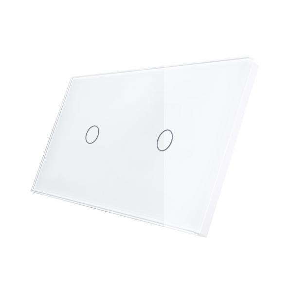 Panou intrerupator touch simplu + simplu din sticla Smart Home 13