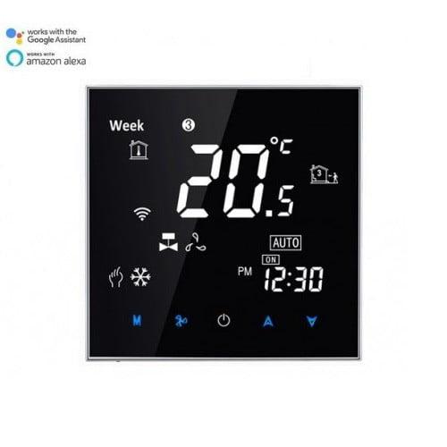 Termostat Incalzire Pardoseala Touch WIFI-Direct compatibil Amazon Alexa si Google Home 1