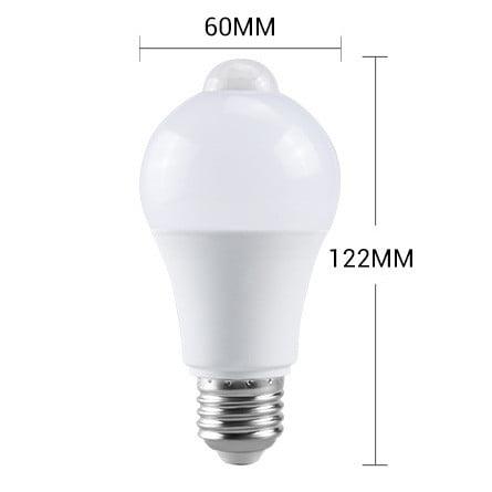Bec LED cu senzor de miscare si detectie zi/noapte, 7W 3
